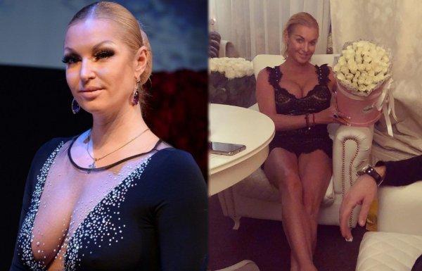 Любит пышек: Волочкова из-за любовника запустила свою фигуру и обросла жиром