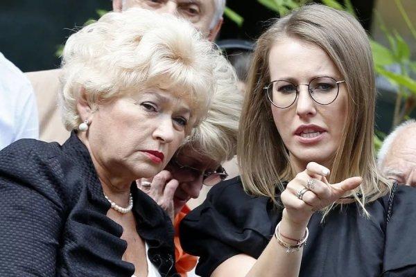 «Мама не простила»: Людмила Нарусова поддержала Виторгана в разводе с Собчак