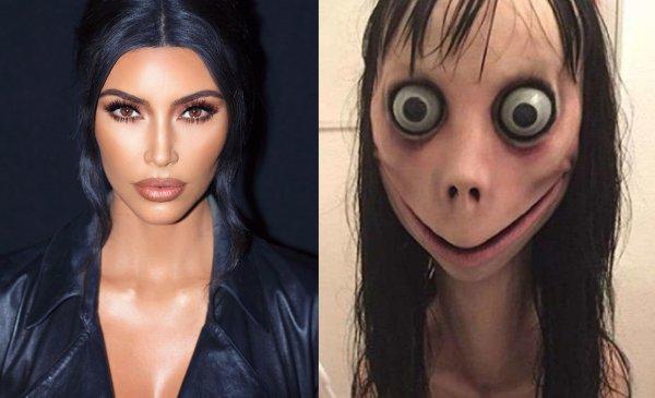 «Яжмать» Ким Кардашьян объявила войну демону Momo