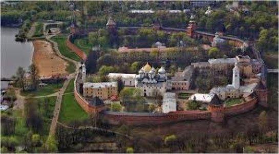 Новгородский кремль Детинец и другие достопримечательности Новгорода и его окрестностей