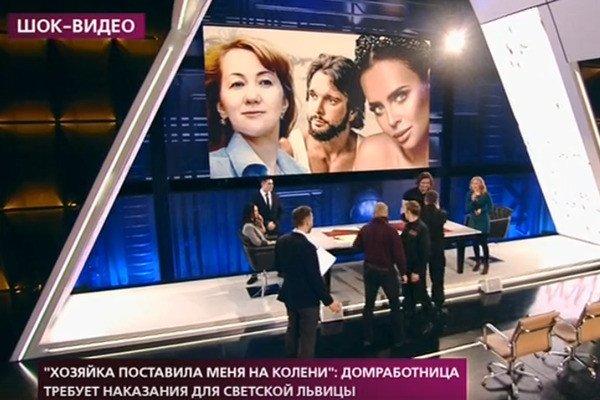 Эпатажный участник  «Дома-2» устроил драку на Первом канале