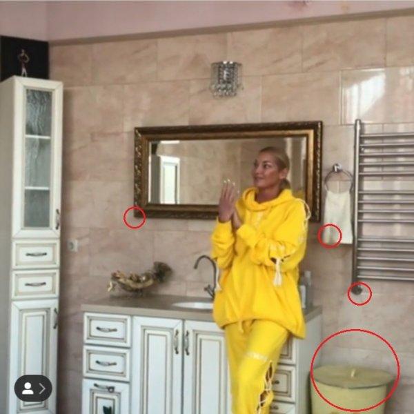 Унитазный маркетинг: Волочкова опозорилась грязным санузлом при съёмках рекламы