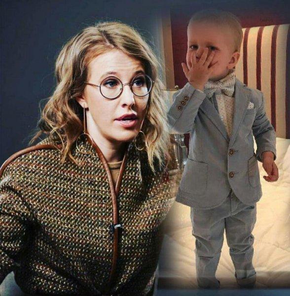 «Неделя в разлуке!» - Собчак сообщила, что Виторган вернул ей двухлетнего сына