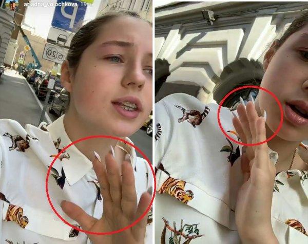 «Наследственная безвкусица» – Фанаты «затравили» дочь Волочковой за вызывающие ногти