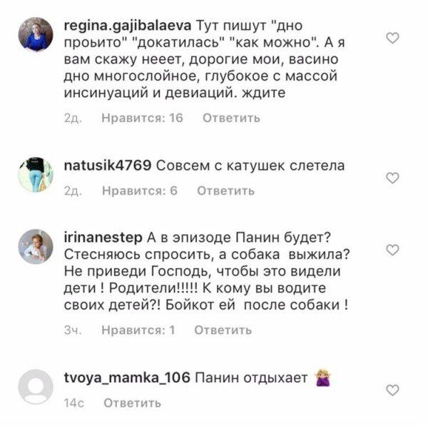 Панин одобряет : Волочкова опозорилась непристойным видео с собакой