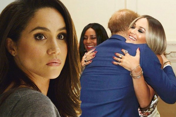 Пока Меган в декрете. Лысеющий Принц Гарри ищет новых ощущений в компании Риты Оры