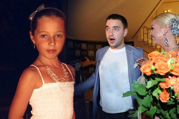 Пока балерина с любовником: 13-летняя дочь Волочковой «заливает» алкоголем одиночество в ресторане