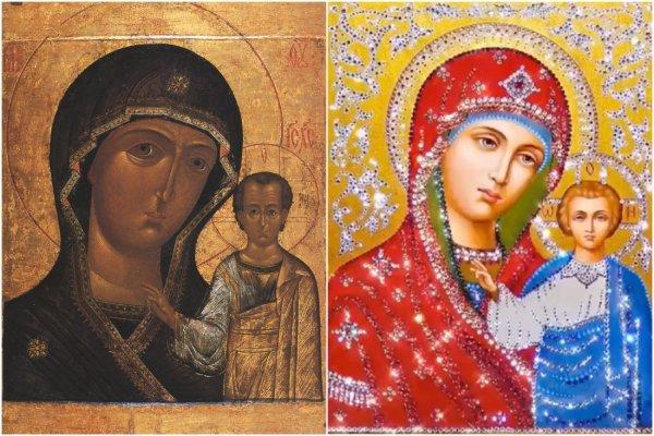 «Богохульница» Бузова опозорилась «гламурной» иконой Богородицы