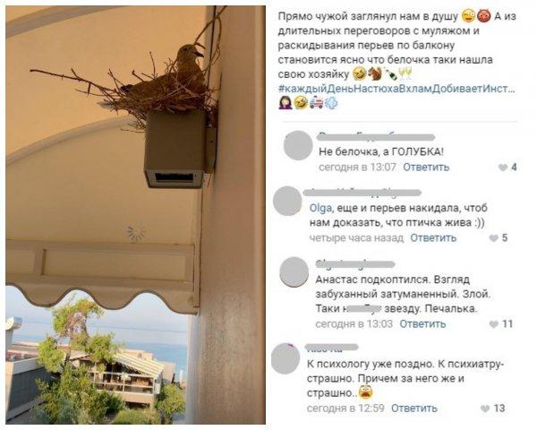 Алкогольный стаж в деле! Волочкова шокировала фанатов разговорами с чучелом