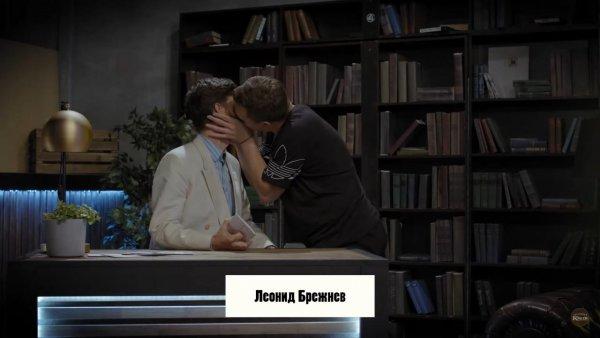 Когда нет сил скрывать…Александра Гудкова по-взрослому поцеловал Сатир на глазах у публики