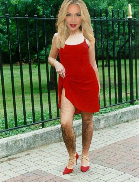 Женщина-Йети: Лопырева опозорилась «шевелюрой» на ногах