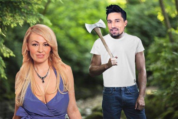 Яна сказала, Дима сделал! Билан в лесу отрабатывает пьяный позор в Самаре