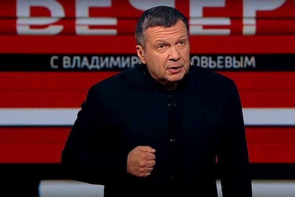 Соловьиный помёт 2.0: Ургант снова опозорил Владимира Соловьёва из-за песни Гребенщикова