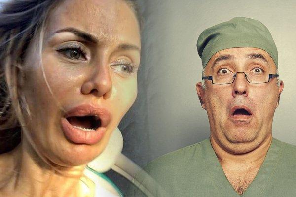 Когда омоложение пошло не по плану… Лицо Бони изуродовало иглоукалывание?