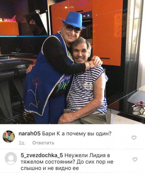 Старушки и след простыл: Алибасов скрывает тяжелое состояние Федосеевой-Шукшиной?