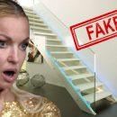 У вас мрамор отклеился! Волочкова опозорилась «королевской» лестницей из пластика