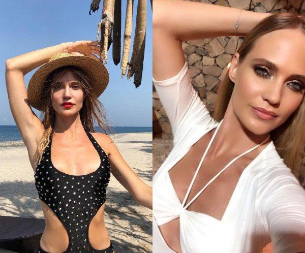 На зависть Волочковой. 33-летняя Глюкоза стала звездой пляжа благодаря точёной фигуре