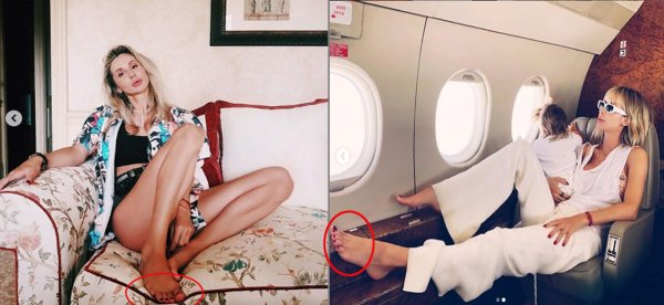 Светлана Лобода оконфузилась 6-ю пальцами на ногах