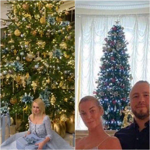 Рудковская плачет от смеха: Новогоднюю ёлку Волочковой оценили в 2 тыс. рублей