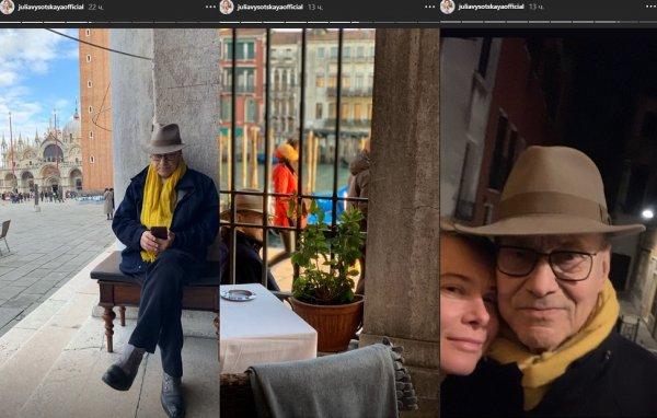 Отказался от мальчиков? Кончаловский экстренно спасает брак с Высоцкой в Венеции