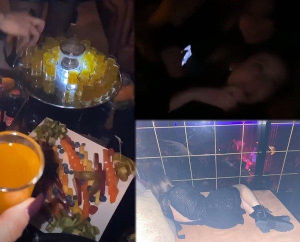 Напилась до «чертиков» или почему 17-летняя дочь Лепса «уснула» прямо в баре?