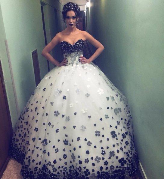 Мария Яремчук удивила необычным нарядом