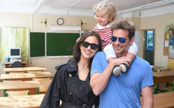 Дочь Ирины Шейк и Брэдли Купера ходит в русскую школу в Нью-Йорке