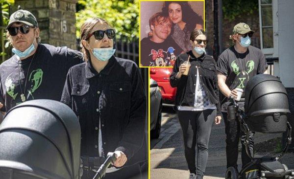 Звезда «Гарри Поттера» Руперт Гринт впервые попал в кадр с дочерью