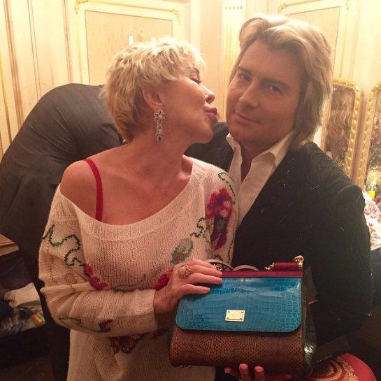 Николай Басков подарил Успенской дорогую сумку