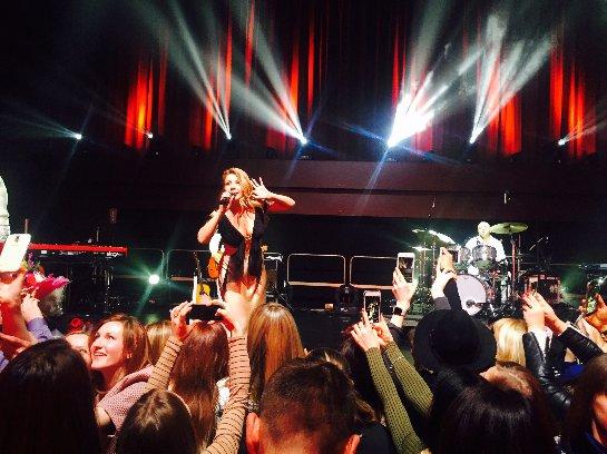 Тина Кароль спела гимн Украины в Лондоне