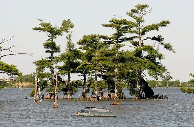 Нефтяное пятно приближается к побережью Луизианы