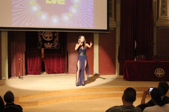 Злата Огневич заставила испанцев петь на украинском языке