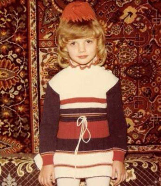 Анастасия Задорожная показала детское фото