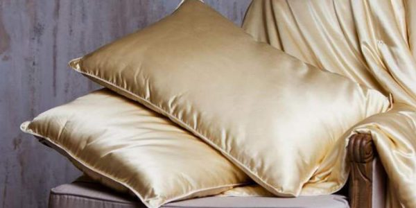 Шелковые подушки и другие товары из натурального шелка