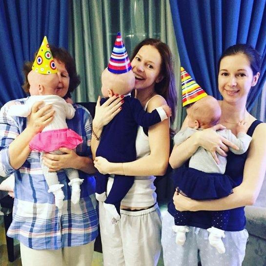 Владимир Пресняков и Наталья Подольская отметили полгода со дня рождения сына