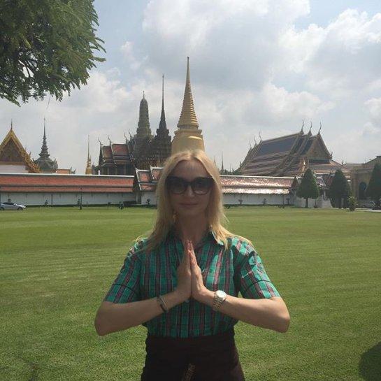 Кристина Орбакайте отдыхает с мужем в Таиланде