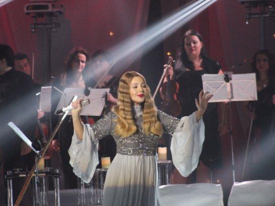 Тина Кароль дала масштабный концерт в Киеве и дважды вышла на бис