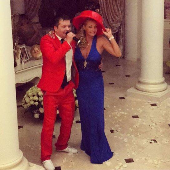 Анастасия Волочкова с размахом отпраздновала 40-летие
