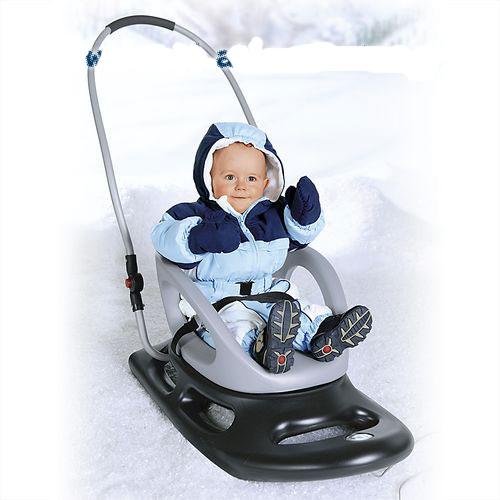 Зимний транспорт для вашего малыша