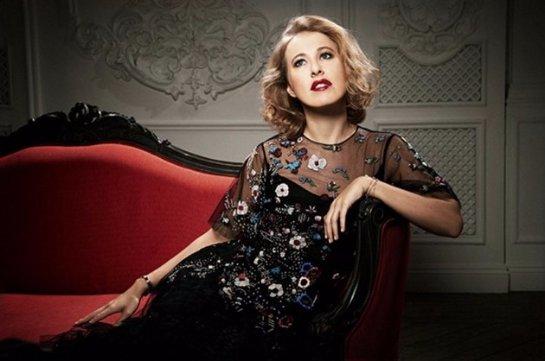 Ксения Собчак и Максим Виторган снялись в совместной фотосессии для интернет-магазина