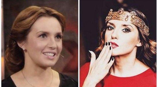 Оксана Марченко заметно постарела