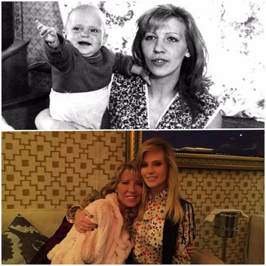 Глюкоза опубликовала совместное фото с мамой