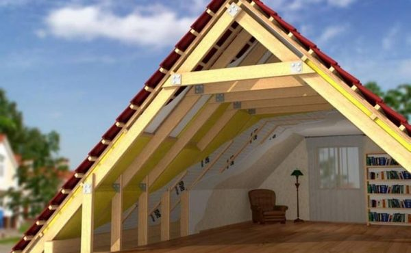 Реконструкция мансарды, утепление стен и крыши