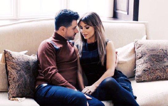 Ани Лорак снялась в трогательной фотосессии вместе с супругом