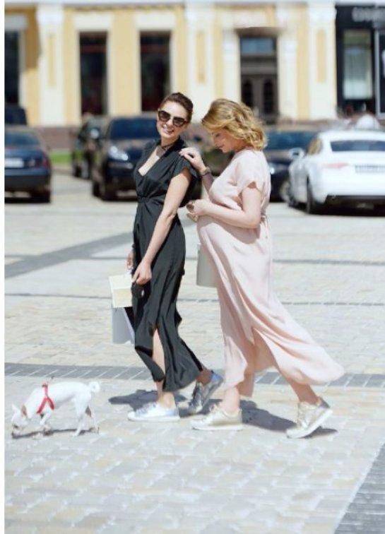 Елена Кравец запустила собственную линию одежды для беременных женщин