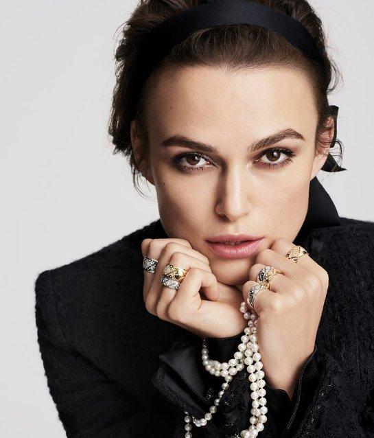 Кира Найтли в новой рекламе Chanel