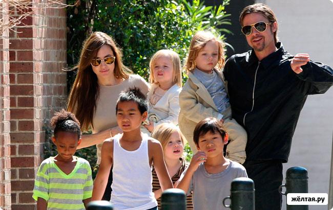 Анджелина Джоли снова беременна?
