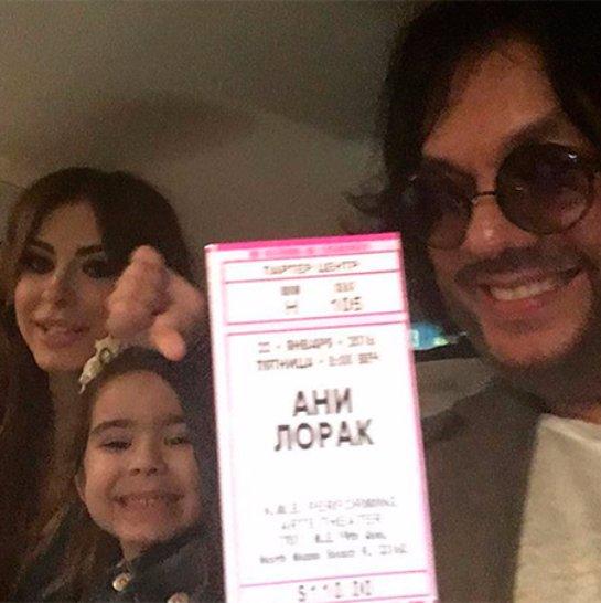 Ани Лорак больше не скрывает лицо дочери