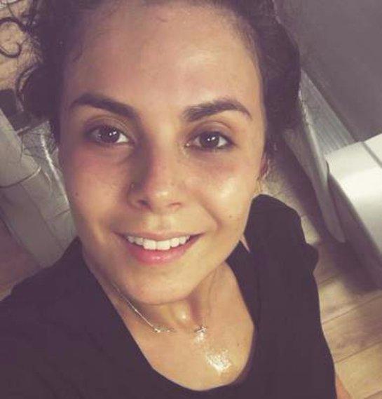 Настя Каменских выложила фото с тренировки в спортивном зале