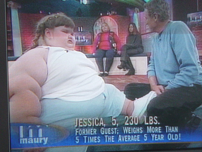 Джессика Леонард сидела на гармонах